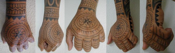Polynesian Hand Tattoo